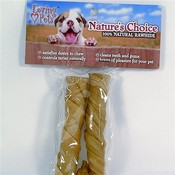 Nature's Choice Rawhide Pork Twists