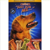 """JUST FOR ME"" Medium Assorted Dog Biscuits"