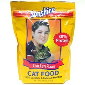 Sunshine Chicken Flavored Cat Food Pouch Wholesale Bulk