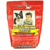 Field Trial Beef & Liver Ration Dog Food Pouch