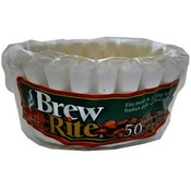 Brew Rite 8-12cup Coffee Filters 50ct package