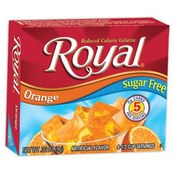 Royal Sugar Free Gelatin Orange