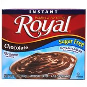 Royal Instant Pudding Sugar Free Chocolate Wholesale Bulk
