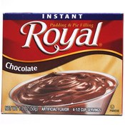 Royal Instant Pudding and Pie Filling Chocolate Wholesale Bulk
