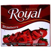 Royal Gelatin Strawberry Wholesale Bulk