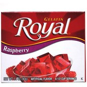 Royal Gelatin Raspberry