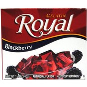 Royal Blackberry Gelatin