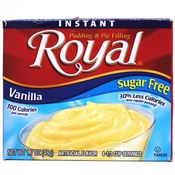 Royal Instant Pudding Sugar Free Vanilla Wholesale Bulk