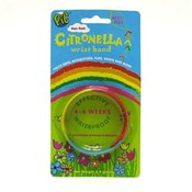 Citronella Deet Free Rainbow Color Wrist Band