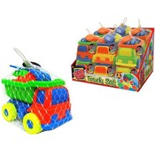 Sand Box Truck Set Assorted Display 9 Pieces