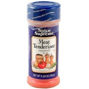 Spice Supreme Meat Tenderizer Seasoning