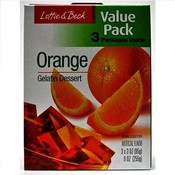 Lottie & Beck Value Pack Orange Gelatin 3 Pack Wholesale Bulk