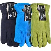 Ladies Polar Fleece Gloves Asst Colors