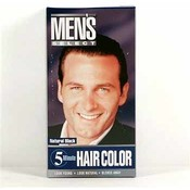 Men&#39;s Select Hair Color Black
