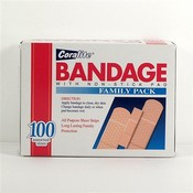 Coralite Assorted Bandage Strips 100'S