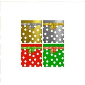 Jumbo Glitter Christmas Bag 4 Assorted 950 Series Wholesale Bulk