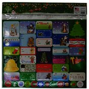 Christmas 200 Self-Stick Gift Tags Wholesale Bulk