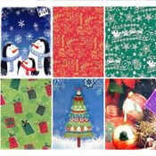 Christmas Print Clothing Gift Box In PDQ- XLarge Wholesale Bulk