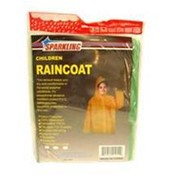 Childs Rain Poncho Assorted Colors