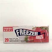 Fresh Seal Quart Freezer Bag Wholesale Bulk