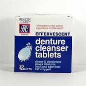 Health Care Effervescent Denture Cleaner Tablets Wholesale Bulk