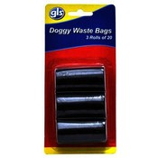 Great Lakes Select Dog Waste Bags - 3 Rolls of 20