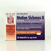 Motion II Meclizine 25mg