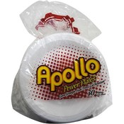 Disposable Plate 8.875' Foam - Apollo Wholesale Bulk