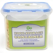 Rectangle Food Storage Container w/Click Lock Lid