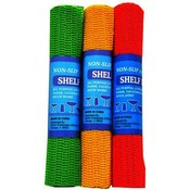 Shelf Liner Anti-Slip Assorted Colors 5' x 12""