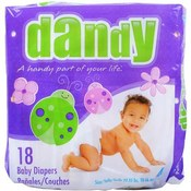 Dandy Large Baby Diapers Size 4 (22-35 lbs) Wholesale Bulk