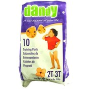 Dandy Medium Pull On Training Pants 2T - 3T up to 34 lbs Wholesale Bulk