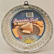Durable Deep Dish Pie Pan