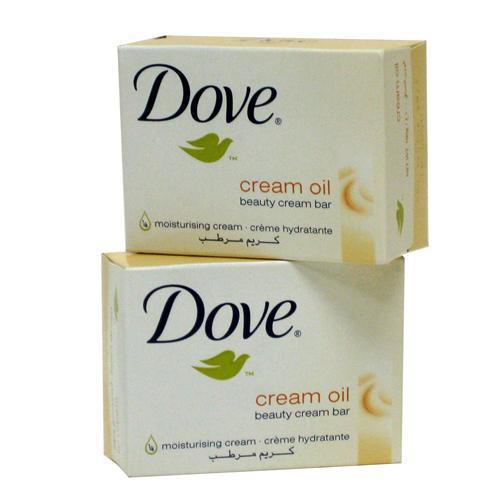 Dove Beauty Cream Bar Soap Moisturizing Cream Oil