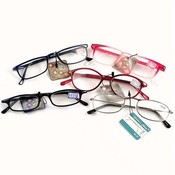 Plastic Reading Glasses 150 Power Assorted Colors