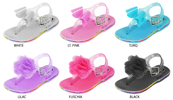 Toddler Girls Assorted Jelly SANDALS [1877800]