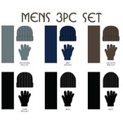 Men's 3 Piece Winter Wear Set