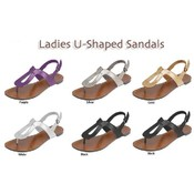 Ladies U-Shaped Sandals