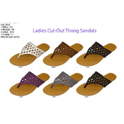 Ladies&#39; Cut-out Thong Sandal