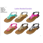 Ladies&#39; Braided Sandals