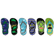 Toddler Boys Printed Flip Flops