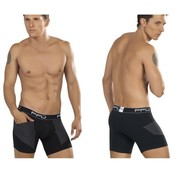 PPU Boxer With Pockets Black Large