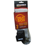 Heat Sox - Battery Powered Heated Wool Socks Large