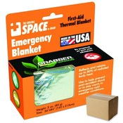 SPACE Super-Insulating Emergency Blanket Silver