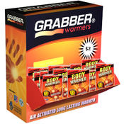 Grabber 12 Hour Adhesive Body Warmer 120ct Display