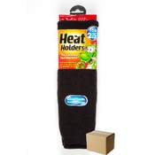 Children Black Heat Holders Children Thermal Sock-Large - Size US 3-61/2 Wholesale Bulk