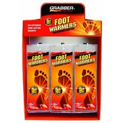 Grabber Foot Warmer Insole Display- 36 Med/Large