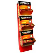 Grabber 3 Tier Hand-Toe-Mega Warmer Floor Display