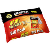 Grabber 10 Pair Big Pack Hand Warmer Foil Bag