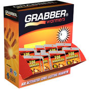 Grabber 6+ Hour Adhesive Toe Warmers 120ct Display